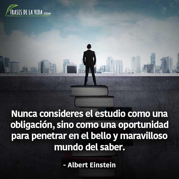 Frases para estudiar, frases de Albert Einstein