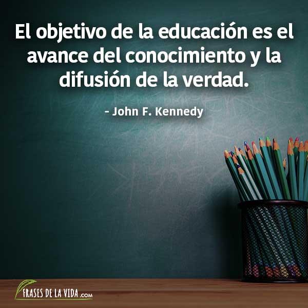 Frases para estudiar, frases de John F. Kennedy