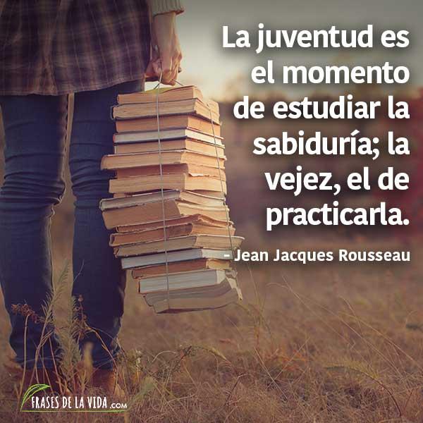 Frases para estudiar, frases de Jean Jacques Rousseau