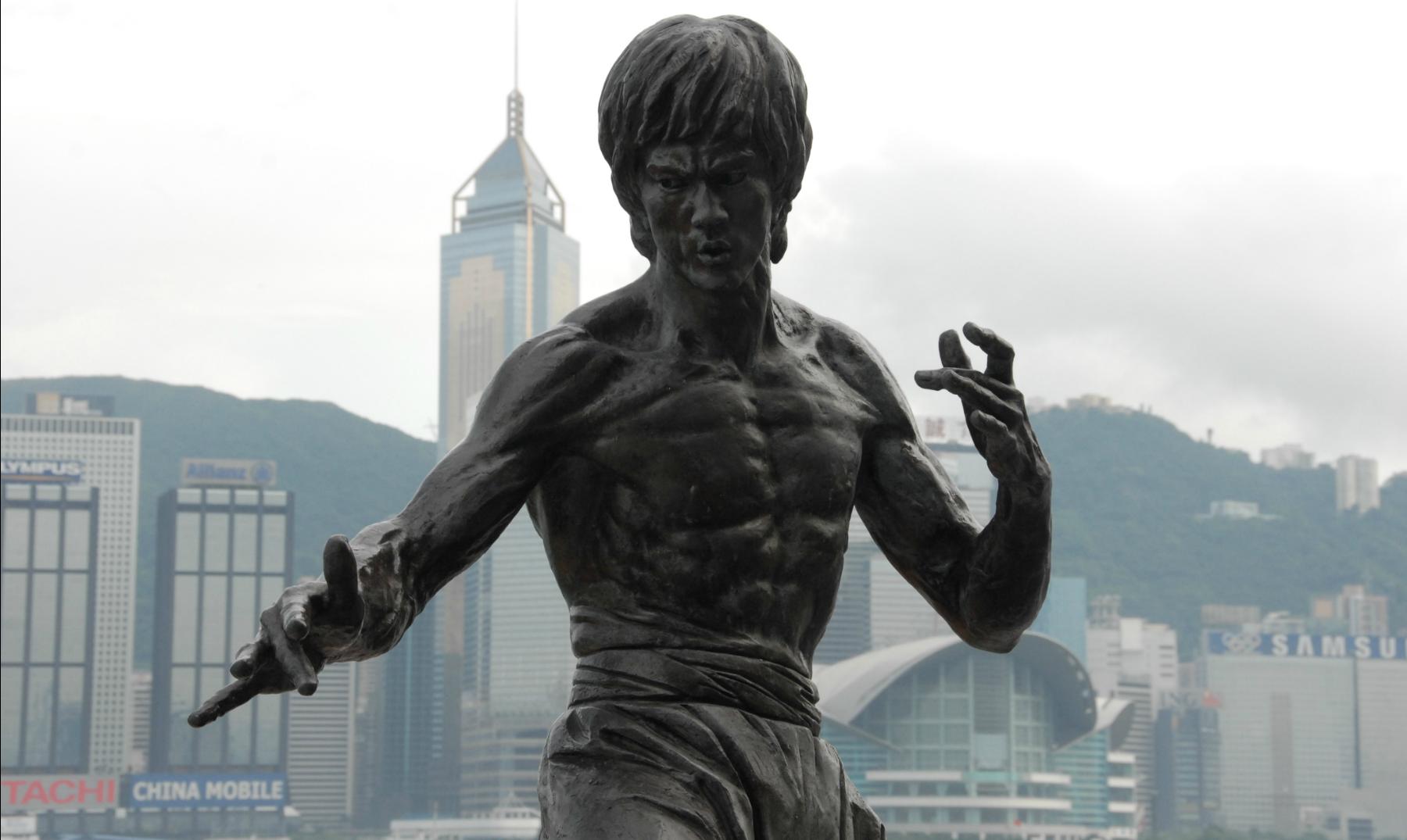 Frases de Bruce Lee; el pequeño dragón