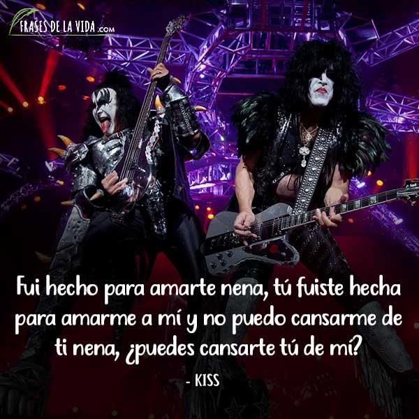 Frases de Rock, frases de Kiss