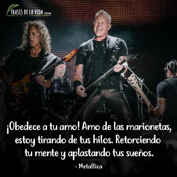 Frases de Rock, frases de Metallica