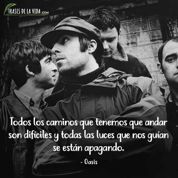 Frases de Rock, frases de Oasis