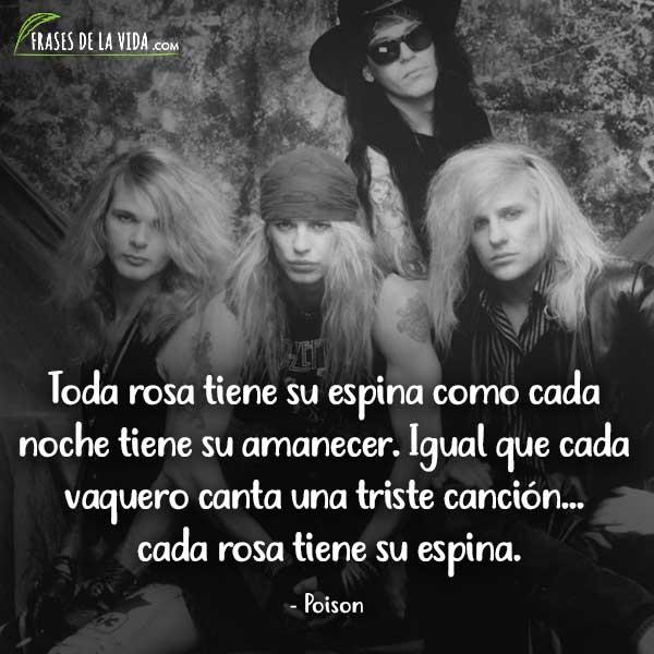 Frases de Rock, frases de Poison