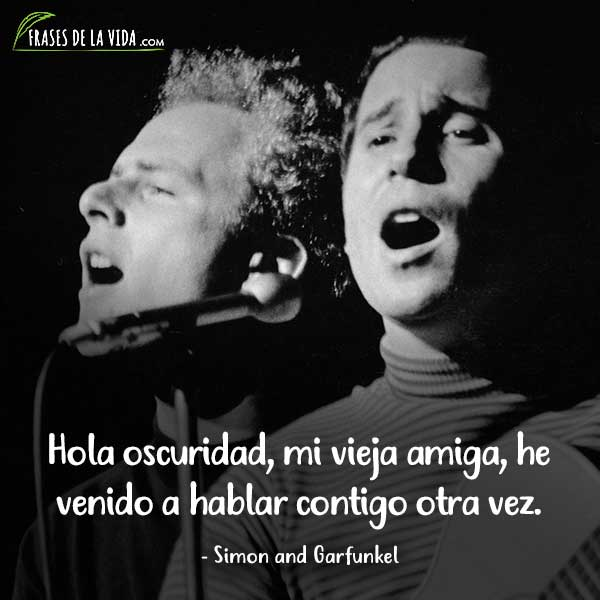 Frases de Rock, frases de Simon and Garfunkel