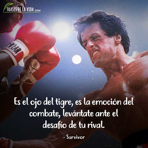 Frases de Rock, frases de Survivor
