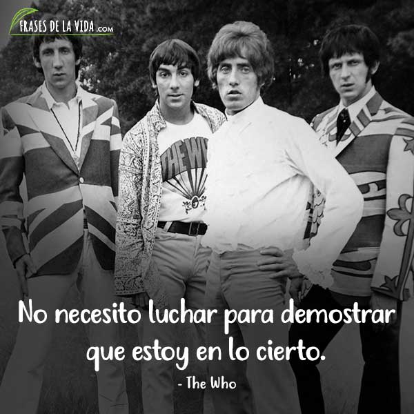 Frases de Rock, frases de The Who