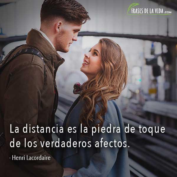 Frases sobre distancia, frases de Henri Lacordaire