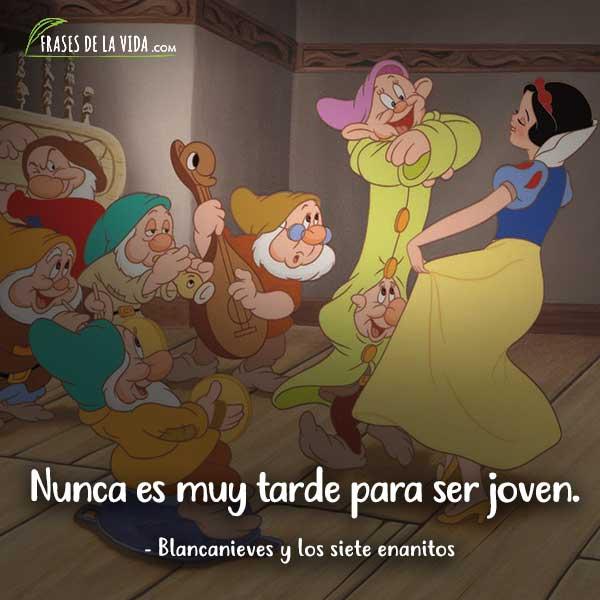 Frases de Disney, frases de Blancanieves y los siete enanitos