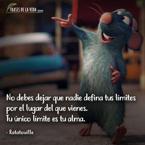 Frases de Disney, frases de Ratatouille