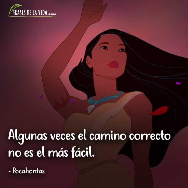 Frases de Disney, frases de Pocahontas