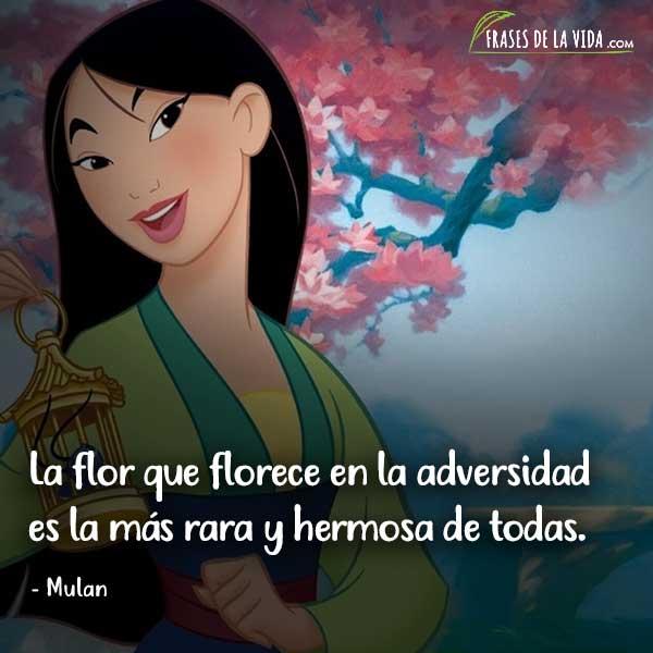 Frases de Disney, frases de Mulan
