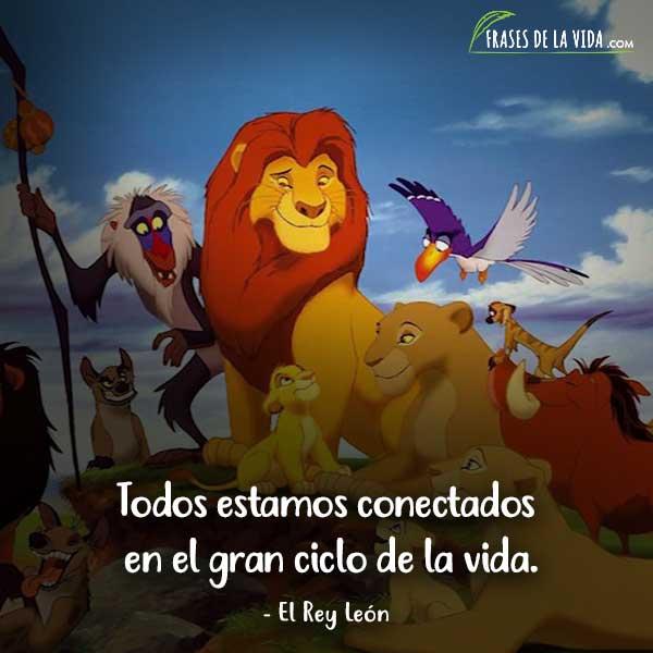 Frases de Disney, frases de El Rey León