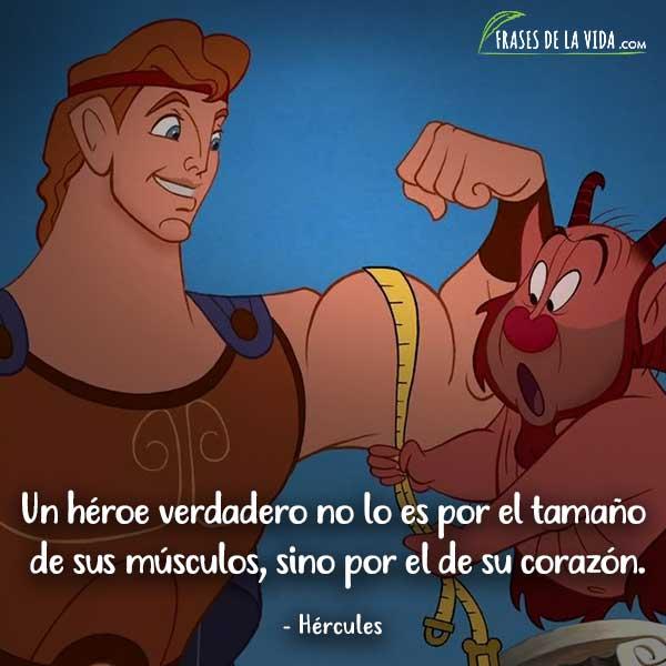 Frases de películas Disney, frases de Hércules