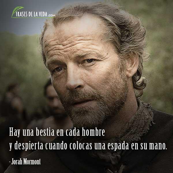 Frases de Juego de Tronos, frases de Jorah Mormont
