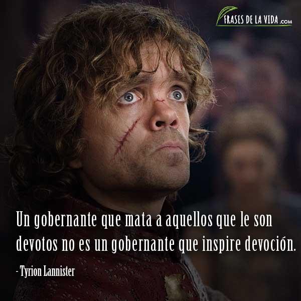 Frases de Juego de Tronos, frases de Tyrion Lannister