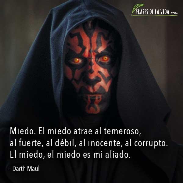 Frases de Star Wars, frases de Darth Maul