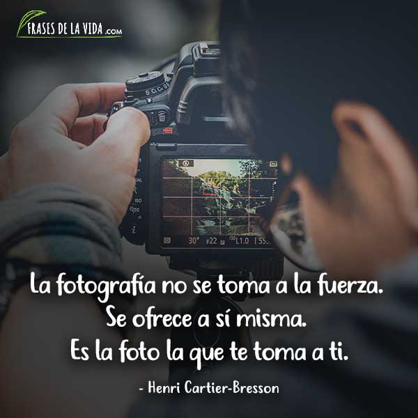 Frases de fotografía, frases de Henri Cartier-Bresson