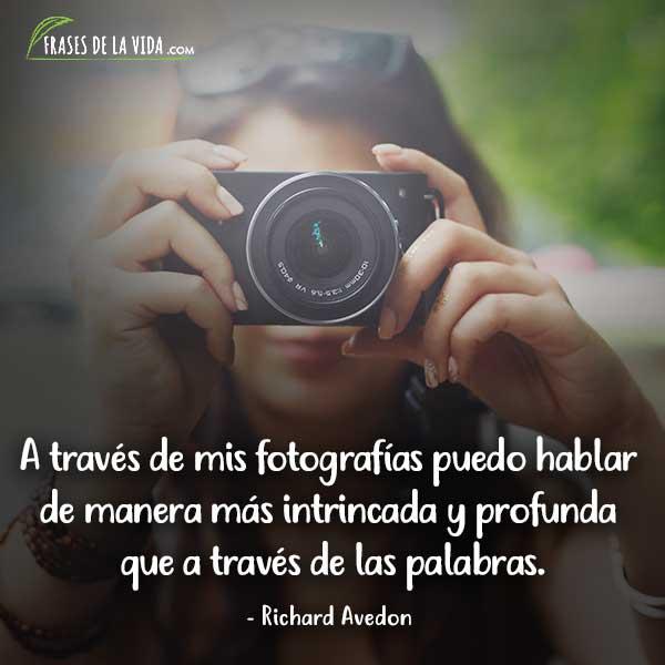 Frases de fotografía, frases de Richard Avedon
