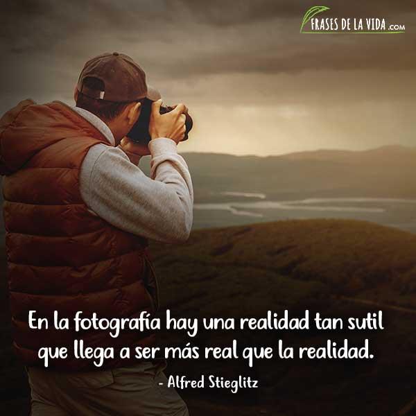 Frases de fotografía, frases de Alfred Stieglitz
