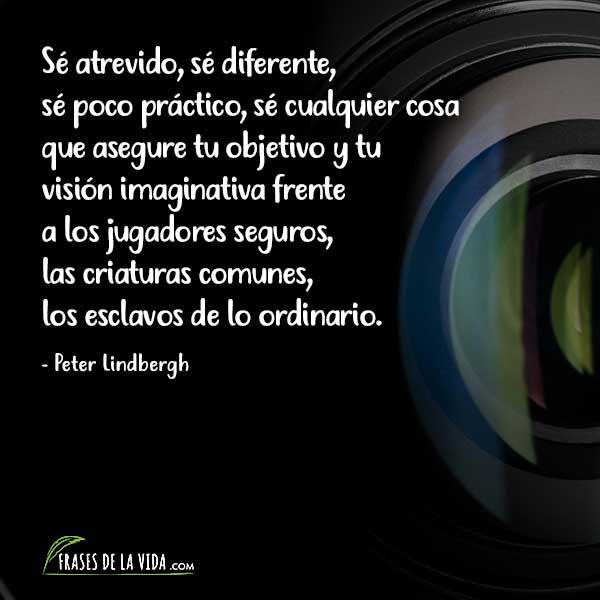 Frases de fotografía, frases de Peter Lindbergh