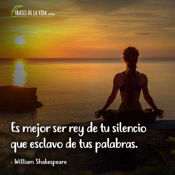 Frases Sobre El Silencio Frases De William Shakespeare Frases De