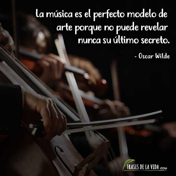 Frases sobre música, frases de Oscar Wilde