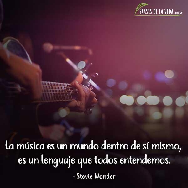 Frases sobre música, frases de Stevie Wonder
