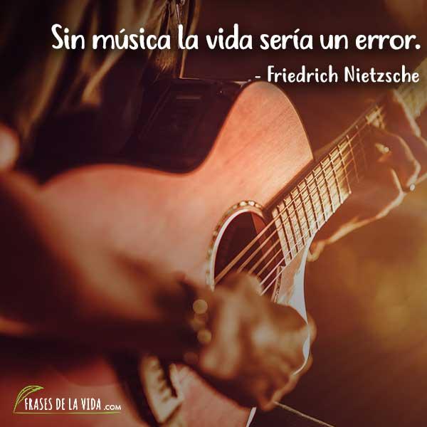 Frases sobre música, frases de Friedrich Nietzsche