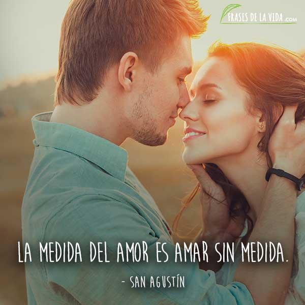 Frases de amor cortas, frases de San Agustín