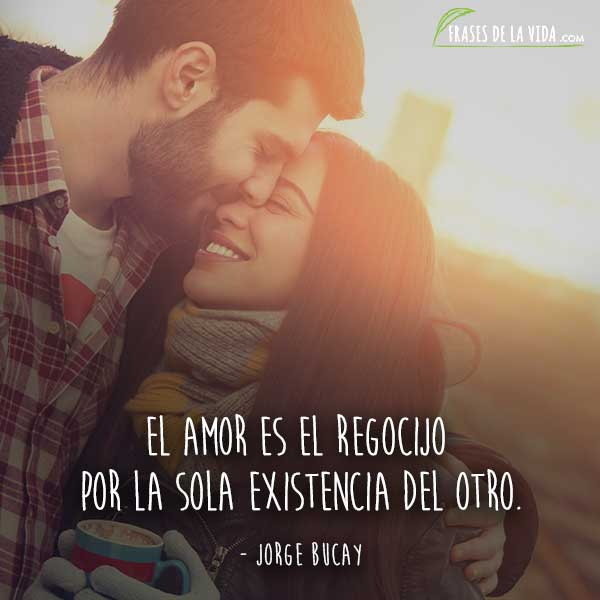 Frases de amor cortas, frases de Jorge Bucay