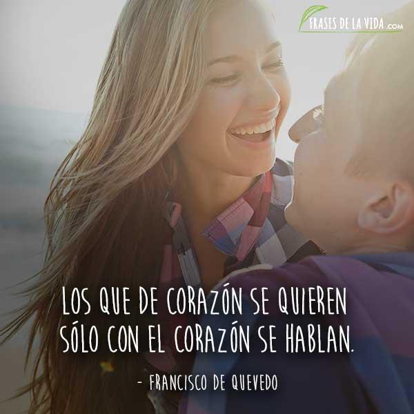Frases de amor cortas, frases de Francisco de Quevedo
