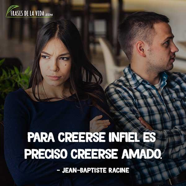 Frases de infidelidad, frases de Jean-Baptiste Racine