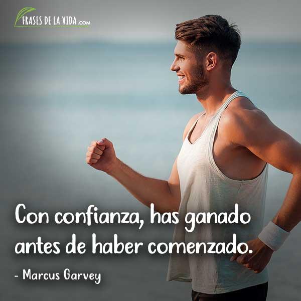 Frases de confianza, frases de Marcus Garvey.