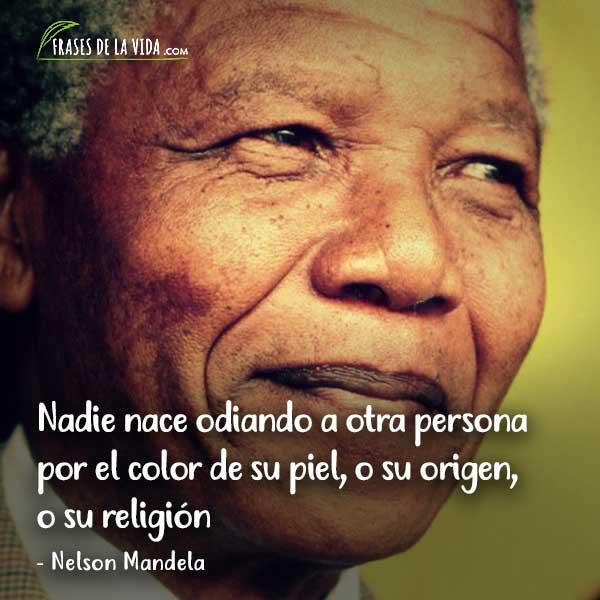 Frases de odio, frases de Nelson Mandela