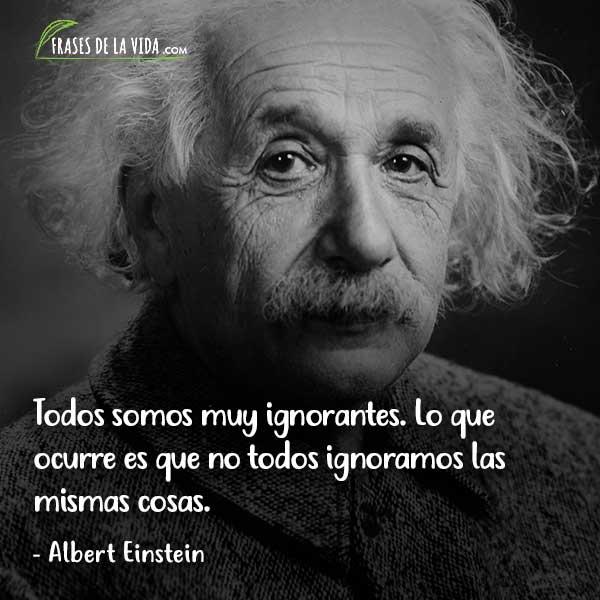 Frases de sabiduría, frases de Albert Einstein