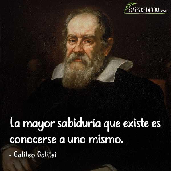 Frases de sabiduría, frases de Galileo Galilei