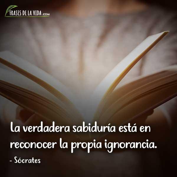 Frases de sabiduría, frases de Sócrates