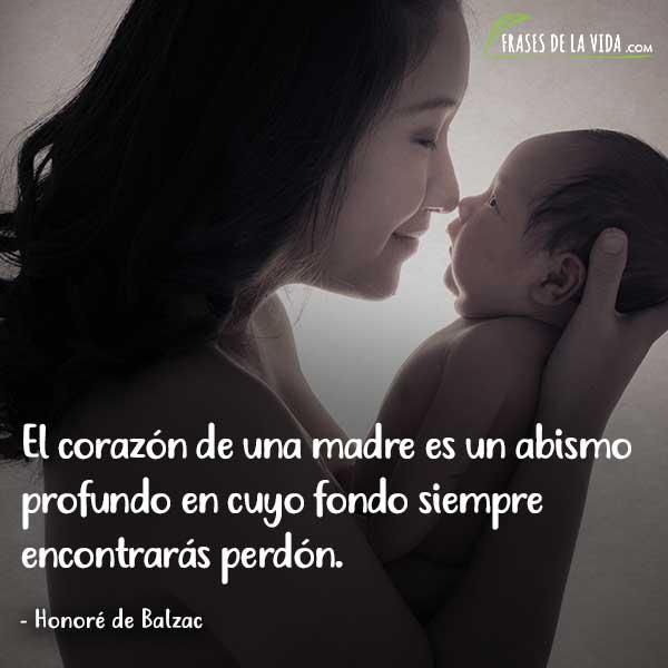 Frases para el día de la madre, frades de Honoré de Balzac