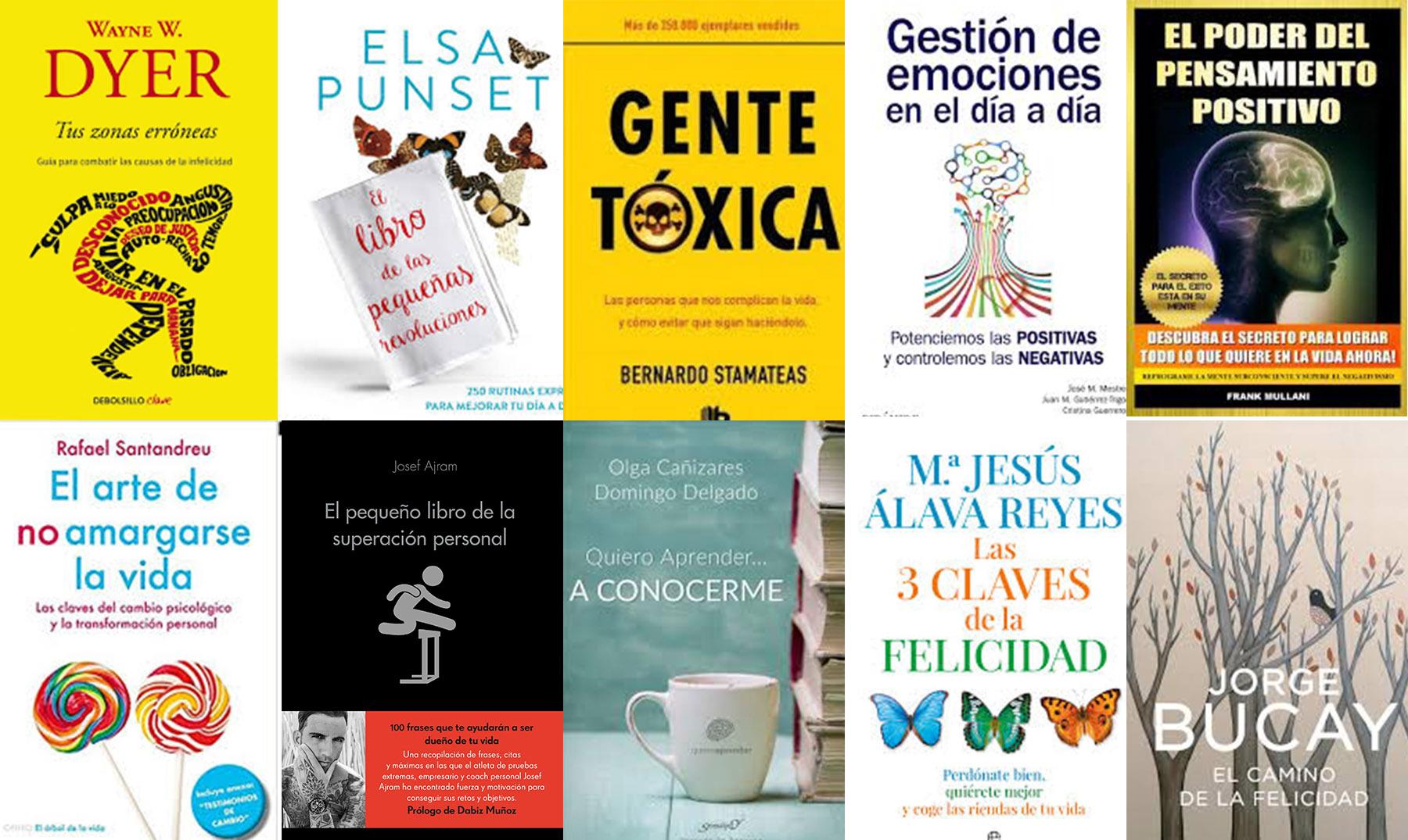 10 Libros De Autoayuda Para Conocerte Mejor [Imprescindibles]  @tataya.com.mx