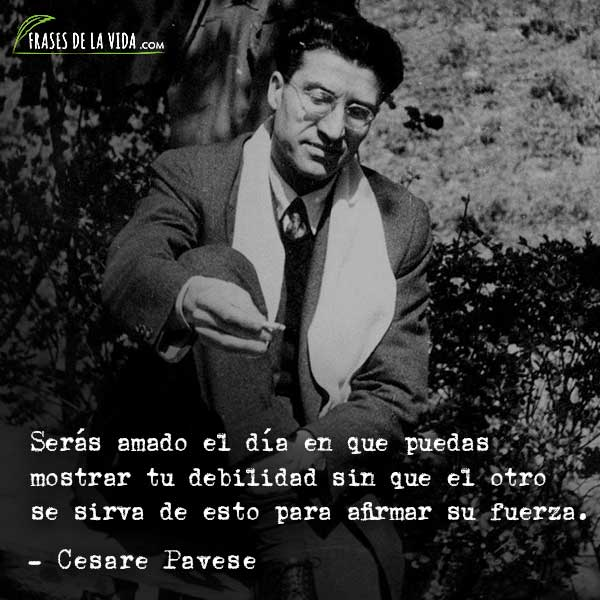 70 Frases De Cesare Pavese Y El Arte Del Sufrimiento Con