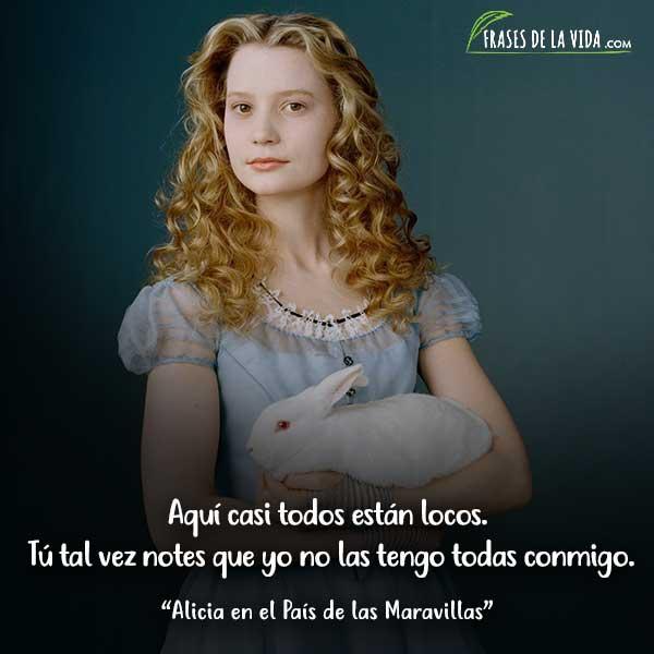 130 Frases De Alicia En El País De Las Maravillas Con Imágenes