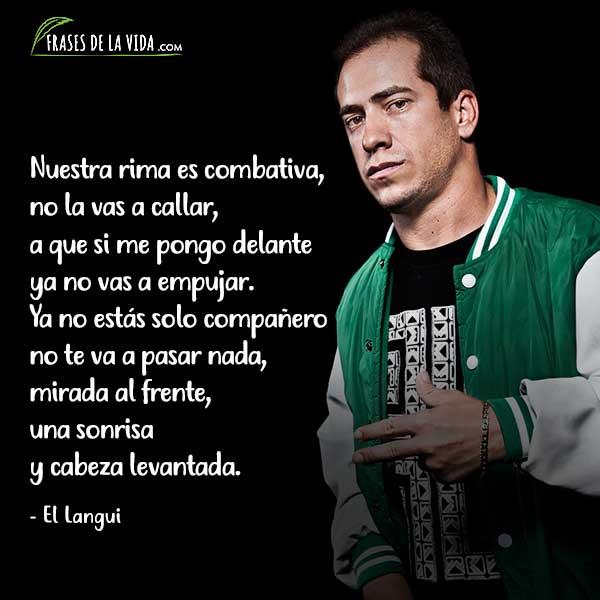 Frases de Rap. Frases de El Langui