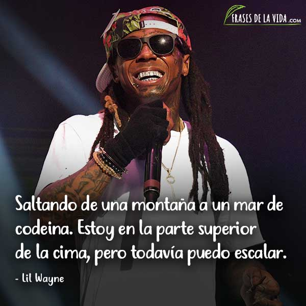 Frases de Rap. Frases de Lil Wayne