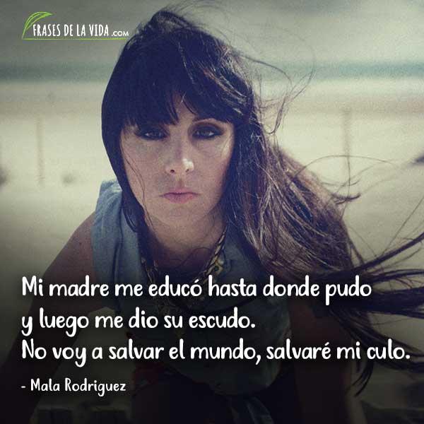 Frases de Rap. Frases de Mala Rodriguez