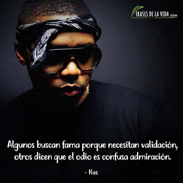 Frases de Rap. Frases de Nas