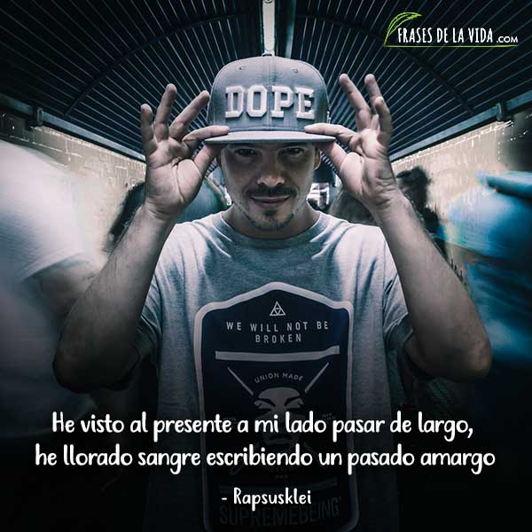 Frases de Rap. Frases de Rapsusklei