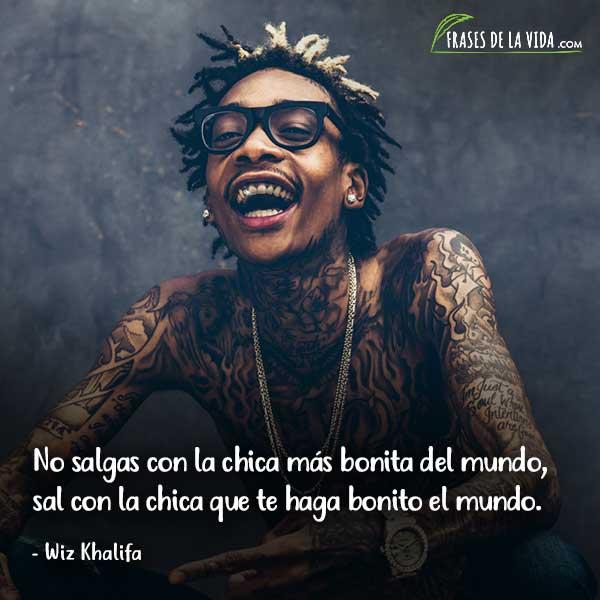 Frases de Rap. Frases de Wiz Khalifa