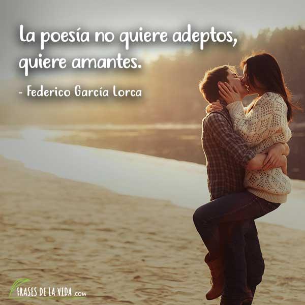 Frases de poesia, frases de Federico García Lorca