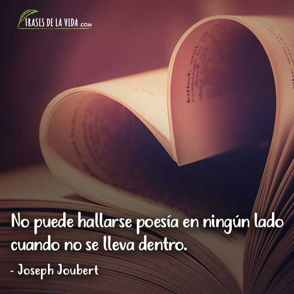 Frases de poesia, frases de Joseph Joubert